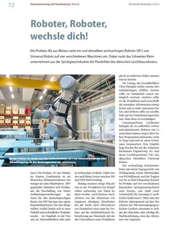 Roboter, Roboter, wechsle dich!